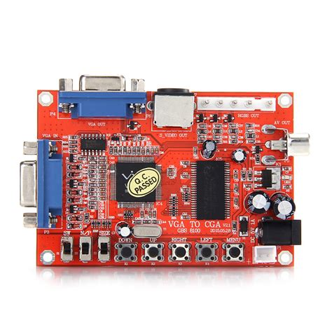 ingresso vga gbs 8100 vga to cga cvbs s high definition hd converter