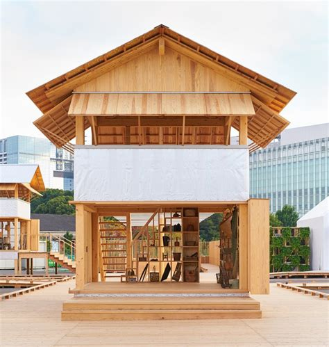 wow house muji x atelier bow wow s rice field office for house vision