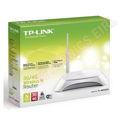 Router Tp Link Mr3220 router inal 225 mbrico n 3g 4g tp link tl mr3220 i r