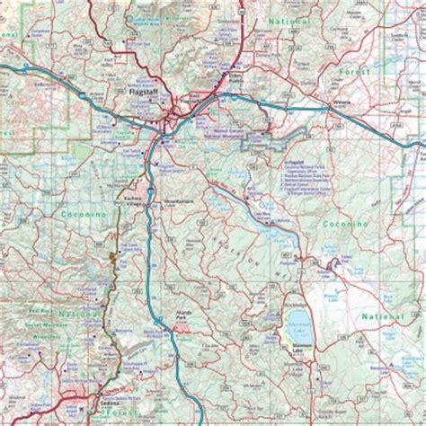 arizona road & recreation atlas benchmark maps