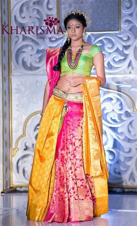 half saree draping half saree styles 7 ways to wear half saree with lehenga