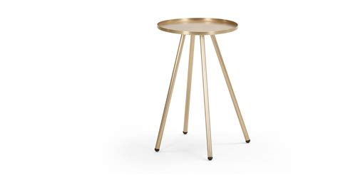 brushed brass desk l alana bedside brushed brass made com