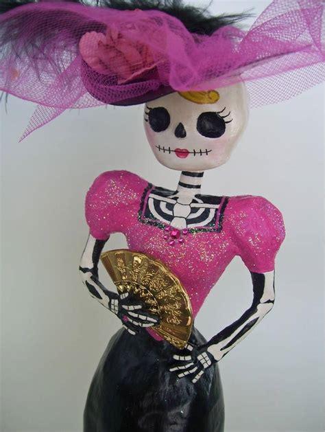 imagenes de calaveras vestidas del chavo catrina de papel mache america benitez flickr