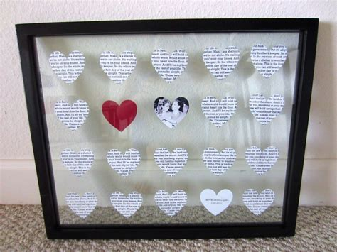 Anniversary Handmade Gift Ideas - handmade gifts for boyfriend on anniversary