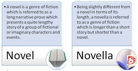 the a novel difference between novel and novella novel vs novella