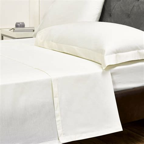 cream flat egyptian cotton bed sheet bed sheets bedding