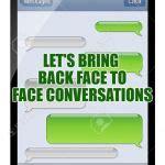 blank text conversation meme generator imgflip