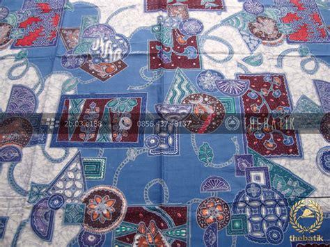 Kemeja Pria Lengan Pendek Batik Abstrak Rainbow Floral Batik Slim jual bahan seragam batik abstrak floral biru thebatik co id