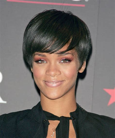 rihanna short hairstyles front and back celebrity clothing celeb rihanna short hairstyles front