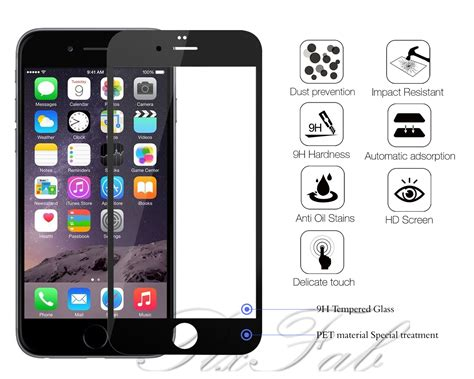 new genuine coloured 4d tempered glass screen protector
