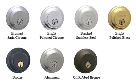 Door Hardware Finishes by Image Gallery Lcn Finish Chart