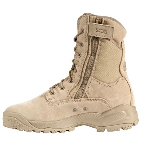 boots 5 11 tactical a t a c 8 coyote side zip boot
