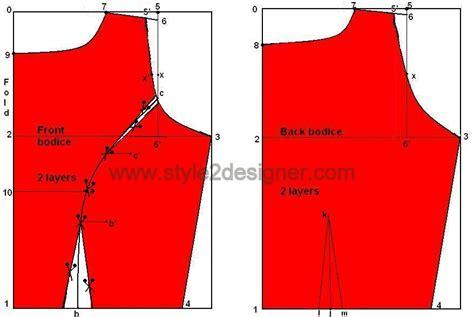 pattern drafting princess line dress fit flare princess cut cocktail drafting style2designer