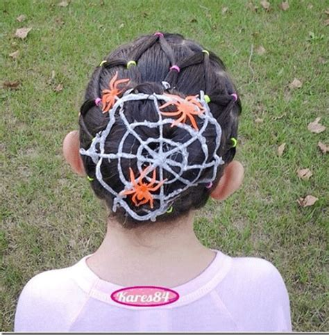 crazy scary cool halloween hairstyle ideas  kids