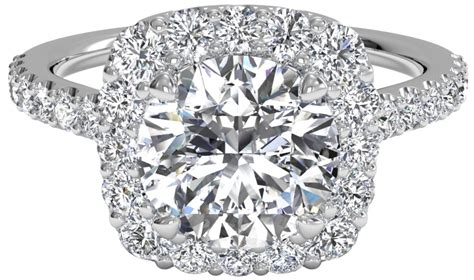 Cushion Settings Faq Which Diamond Shapes Look Best With A Halo Setting