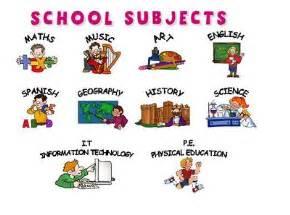 basic english vocabulary 3 subjects esl