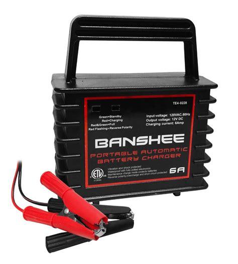 boat battery charger ebay 6 12 volt trickle charger car boat atv 12v 2 year