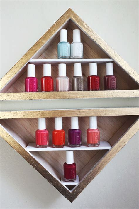 make your own nail shelves clicky pix