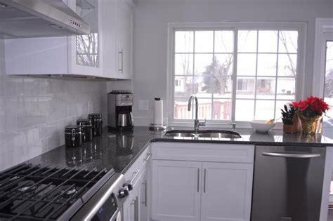 Steel Gray Granite Countertops by Steel Gray Granite Countertops Kitchen Makeover