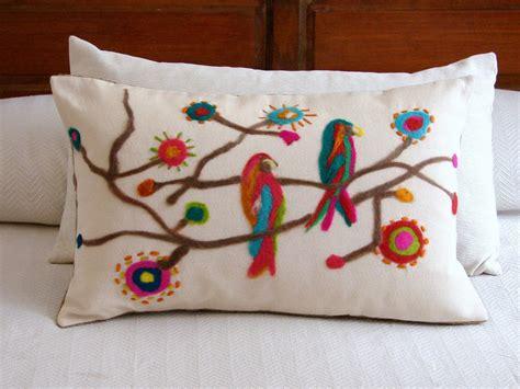 almohadas mexicanas palpitando el carnaval artesana almohadones pinterest