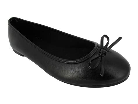 black dollys new womens ballerina dolly flatcasual work