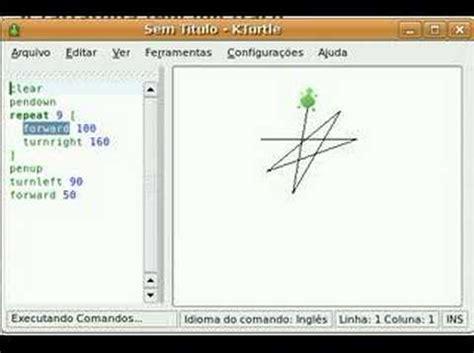 logo programming kturtle logo demonstration