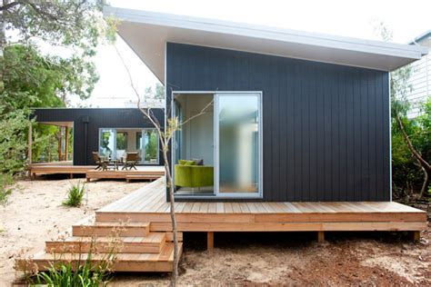 ecokit s modular prefab cabins are sustainable and arrive eco prefab homes our recent australian projects ecoliv
