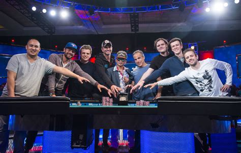wsop table the nine 2016 series of event table set