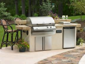 Outdoor Kitchen Kits by Prefab Outdoor Kitchen Kits In Various Designs