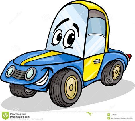 cartoon race funny racing car cartoon illustration stock image image