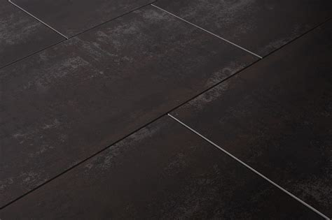 salerno porcelain tile base metal series black 24 quot x24 quot