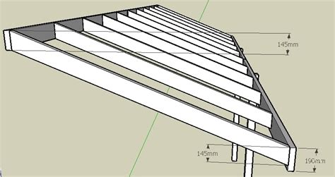 Roof Rafters Span Text Box Rafter Spacing Inches Pergola Span Tables