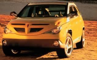 Pontiac Aztek Prototype Pontiac Aztek Concept Front Photo 10