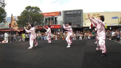 new year the glen chi sword performance at glen waverley new