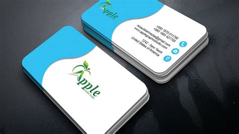 How To Make A Business Card In Photoshop Cc 2018