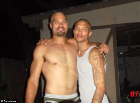 hot mug shot guys mom comes to his defense hes no jeremy meeks reveals he s married as he insists he s left