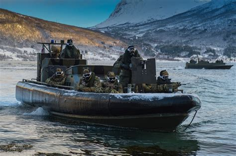 boat service norway royal marines prepare for cold weather training in norway