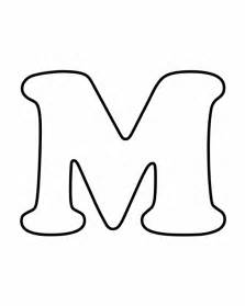 letter m coloring page printable letters letters for coloring m