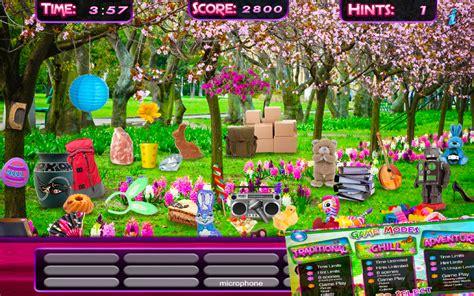 membuat game hidden object amazon com hidden object spring gardens objects time