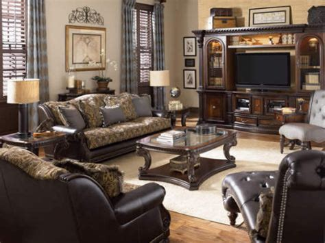 Living Room Traditional Furniture Traditional Living Room Decobizz