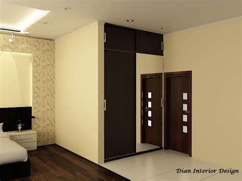 Lemari Bahan Multiplek lemari pakaian 2 pintu sliding dian interior design