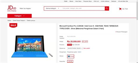 Microsoft Surface Di Indonesia microsoft surface pro 4 masuk indonesia windows portal indonesia