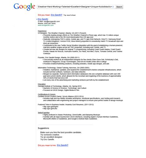 Top Resumes by The Top 10 Non Traditional Resumes That Viral