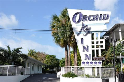 orchid key inn key west vintage signs of key west daytime in the