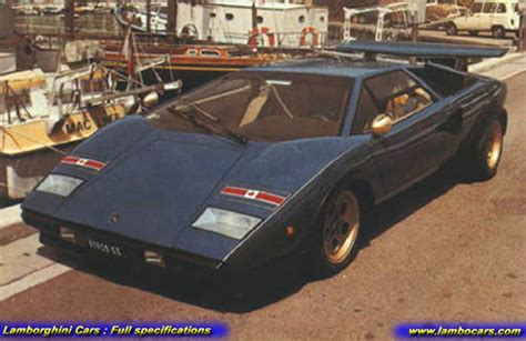 Lamborghini Countach Modified by Walter Wolf Specials Wolf2nd Hr Image At Lambocars