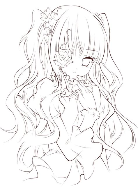 hermosa locura lineart by painter one on deviantart