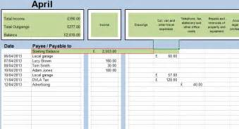 spreadsheets for business and personal use bookkeeping
