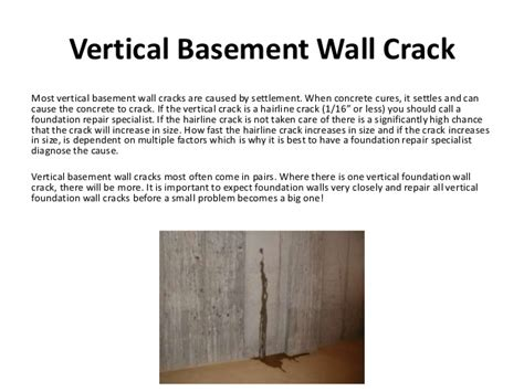 basement wall cracks