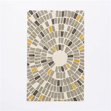 west elm circles rug mosaic circle wool rug west elm grown up furniture mosaics and wool