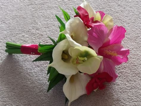 Real Wedding Flowers by Real Touch Flowers Show Me Your Pics Weddingbee